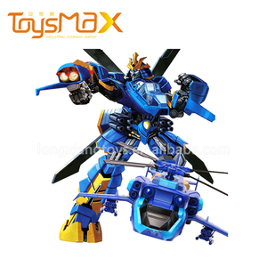 High quality 2.4G robot and airplane 2 in 1 rc planes electric for kids
