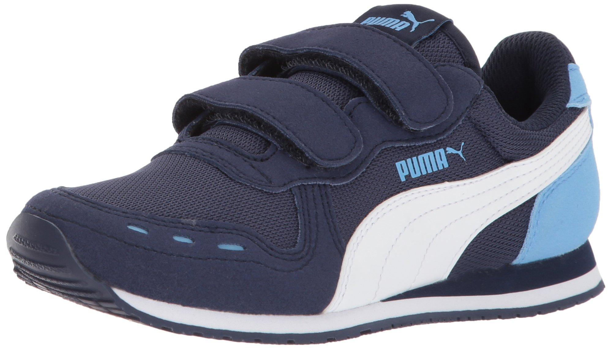 84245e2dcef PUMA Kids  Cabana Racer Mesh Velcro Sneaker