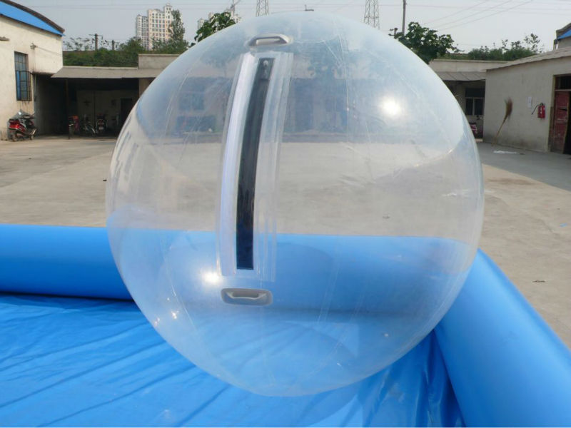 2 m en plastique transparent g ant gonflable boule de for Prix piscine gonflable