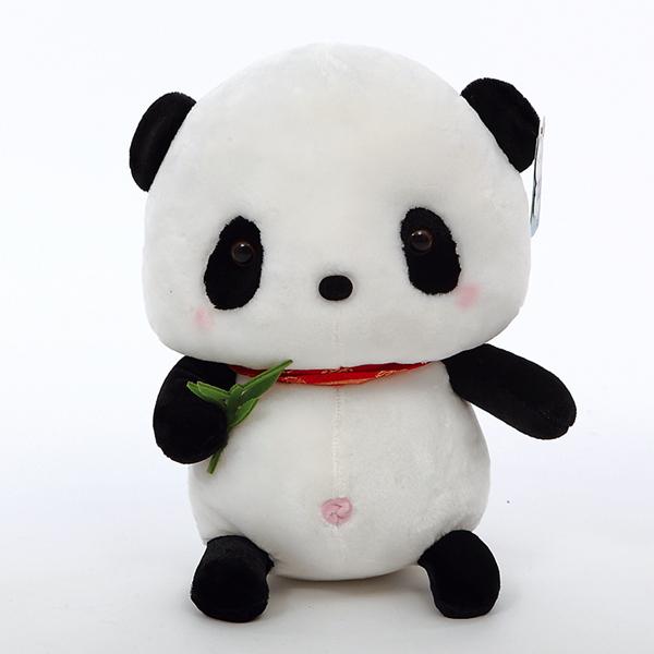 Commercio all'ingrosso unstuffed panda animali di peluche giocattoli