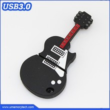 Rock guitar shape usb flash drive cartoon usb memory usb pen stick musical instruments