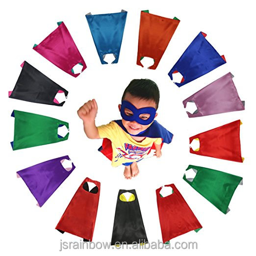 Wholesale <strong>superhero</strong> <strong>kids</strong> <strong>cape</strong> <strong>superhero</strong> <strong>capes</strong> and mask bulk set dress up for <strong>kids</strong> - children DIY birthday party costumes