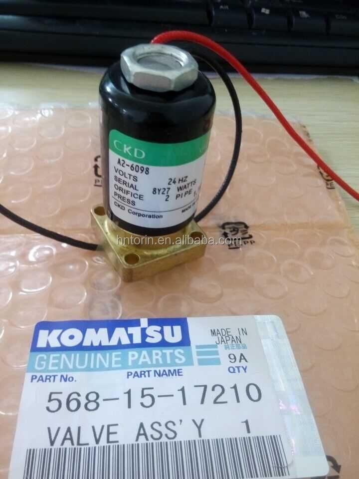 Transmission Control Valve Solenoid Valve 419-15-16910 For Wheel ...