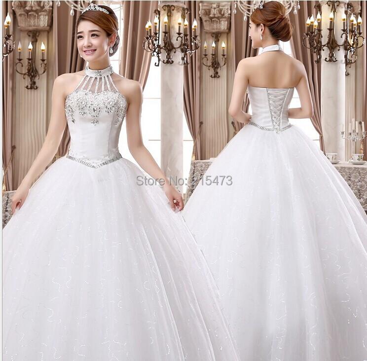 Korean Wedding Gowns: 2016 Luxury Wedding Gowns Bride Dresses High