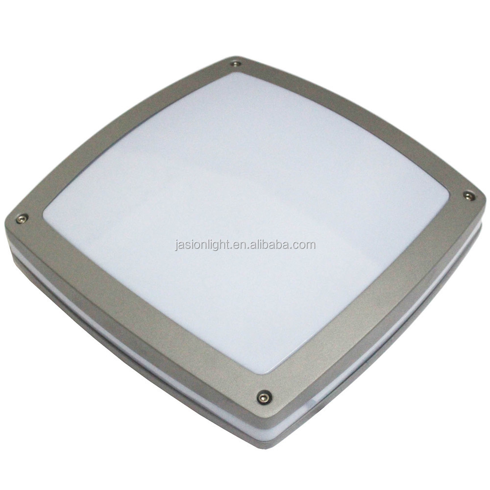 Ip65 15w 24w Square Led Ceiling Light With Microwave Motion Sensor ...