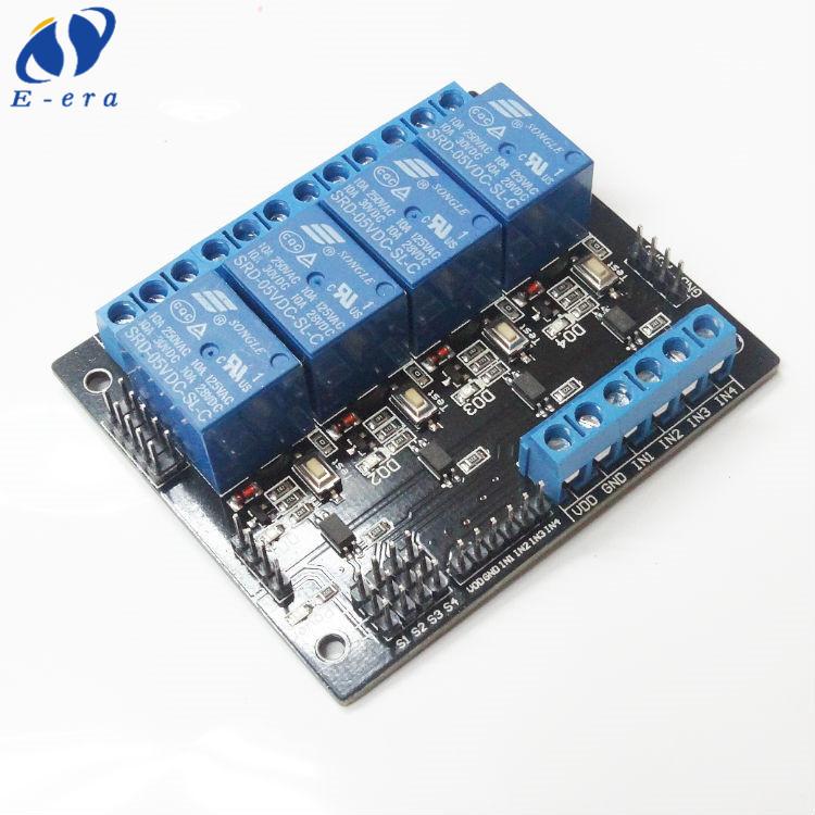 OEG DC 12V  4 Channel Relay Module Four panels Driver Board Module NPN