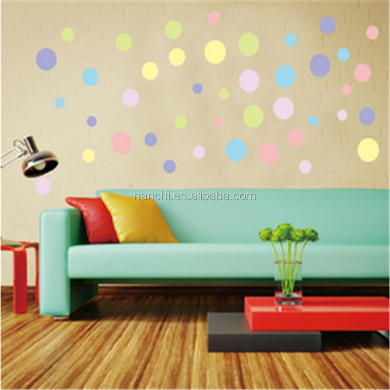 Top autoadesivi della parete del pvc creativo fai da te - Colori muri camerette ...