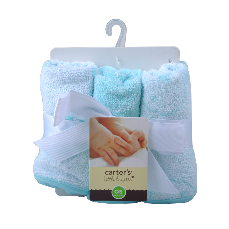 New Style Carters 6pcs Soft Baby Newborn Baby Bath Towels