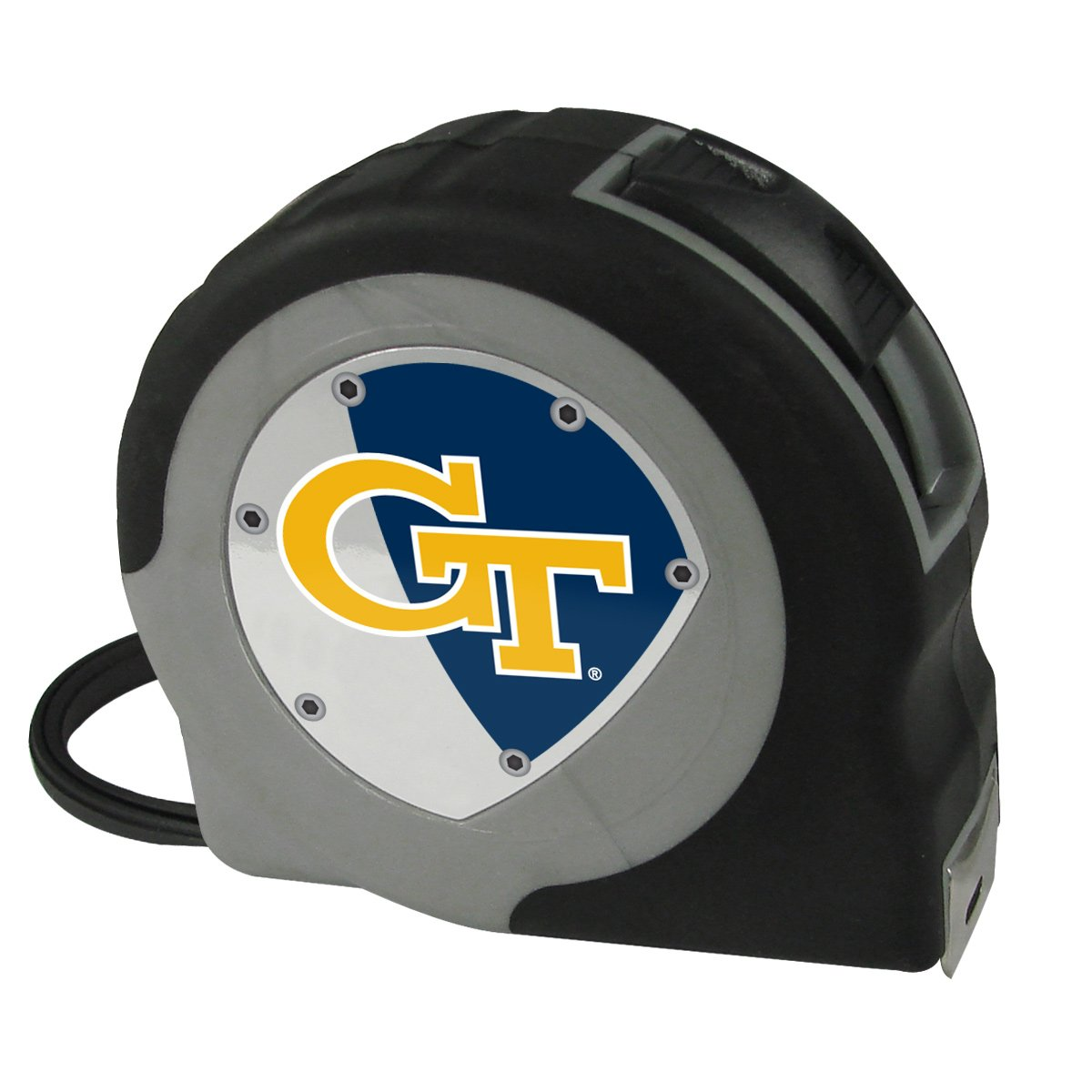 Georgia Tech Yellow Jackets NCAA Pro Grip Tape Measure
