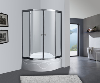 Mini Bathroom Shower Stall With Seat And High End Shower Tray