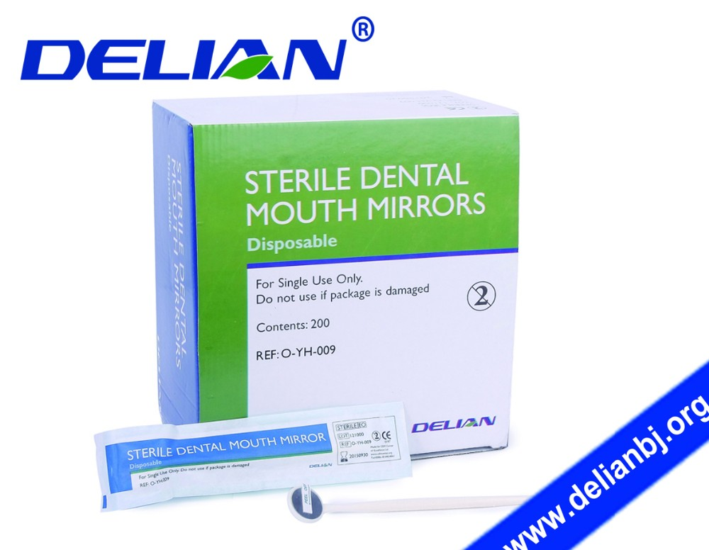 Single Mouth Mirror Single Use Mouth Mirror Dental Disposable Products