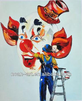 New Design Colorful Clown Painting - Buy Colorful Clown Painting,Clown Oil  Painting,Face Painting Designs Product on Alibaba com