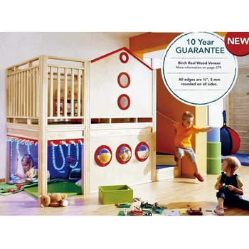 Treehouse wooden indoor playground soft play area for sale for Indoor play area for sale
