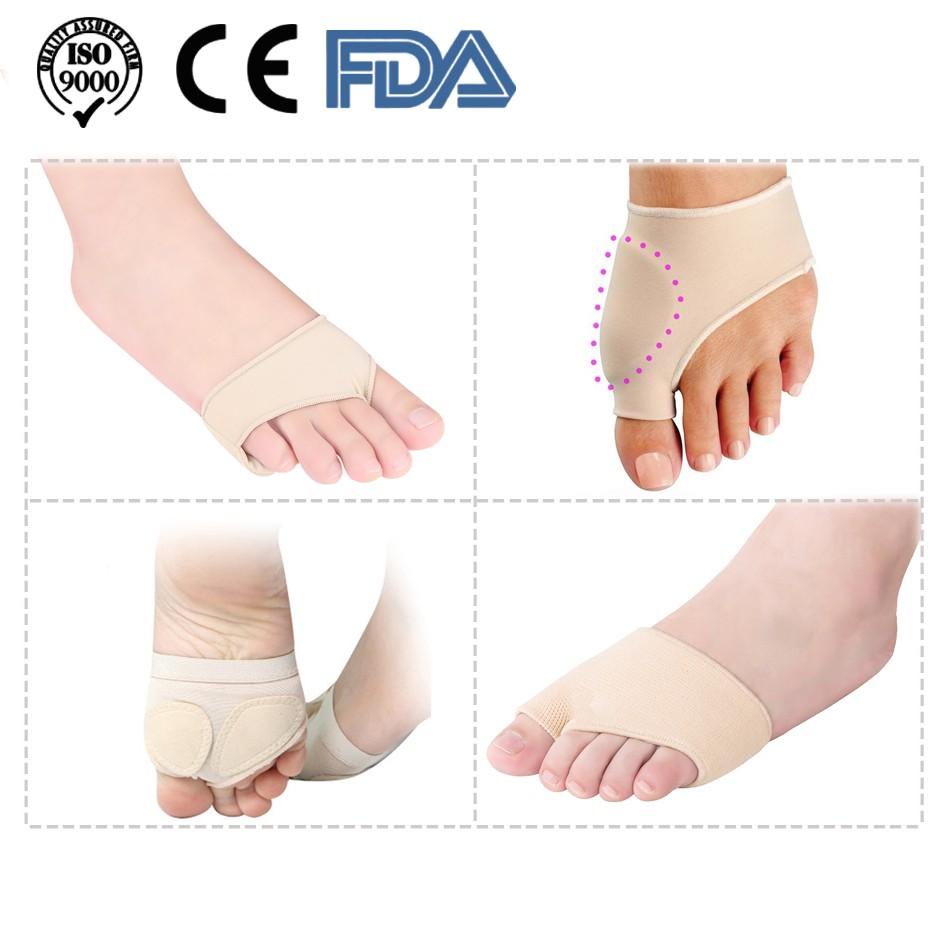 Yiwa 1 Pair Unisex Toe Separators Pain Relief Hallux Valgus Bunion Correction 1pair Silicone Foot Fingers Separator Thumb Protect Corrector Adjuster Pedicure Socks