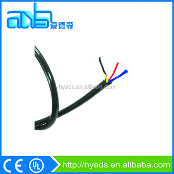 3 Cores 26awg Fep Insulated Tpu Sheathed With Blue Fiber High ...