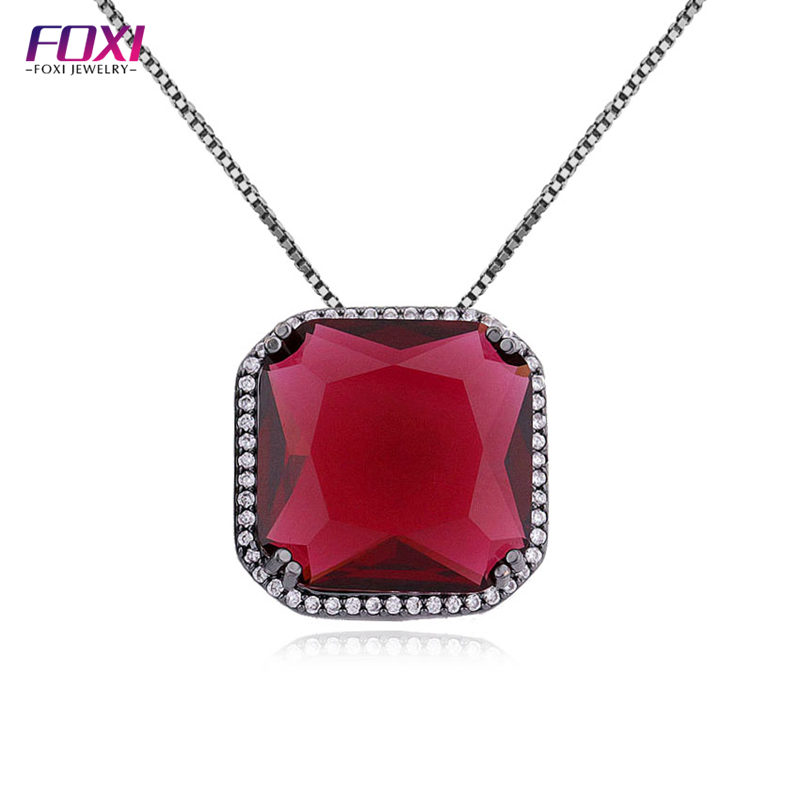 Big ruby stone necklace big ruby stone necklace suppliers and big ruby stone necklace big ruby stone necklace suppliers and manufacturers at alibaba aloadofball Images
