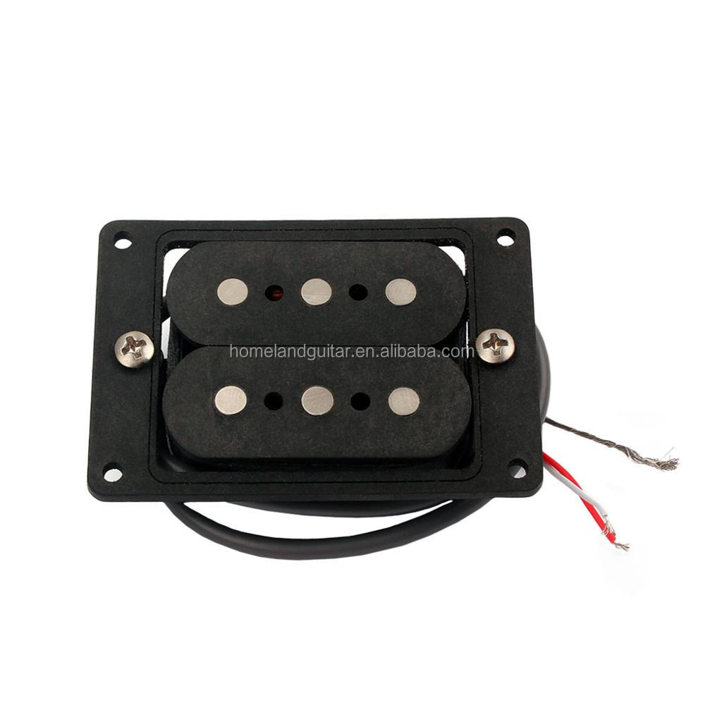 1pcs WholeSale 3 String Rosewood Magnetic Cigar Box Electric Guitar Pickup Parts with 9.3K Resistance Music Practical Accessory
