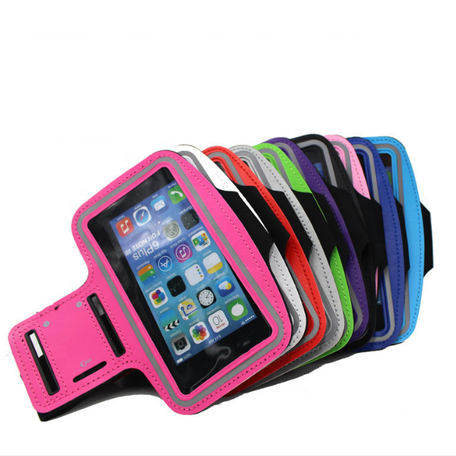 Workmanship In Beautiful 8 Pcs Newest Black Waterproof Running Jogging Sports Gym Armband Cover Holder For Iphone 6 Plus Mobile Phone Accessories Exquisite