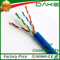 china cable factory 23awg 25 4 pair utp cat6 cca lan cable
