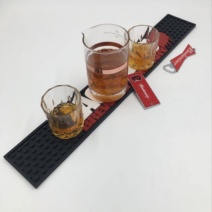 Personalized Designer Washable Branded Table Bar Mats