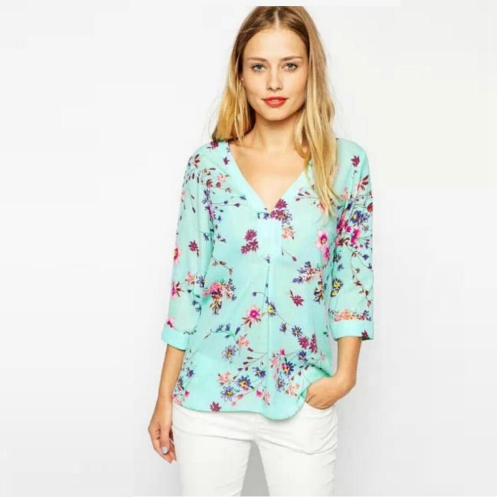 63952ff6db5c0 Venta superior personalizada bordado señoras de la manera ocasional blusa  para mujer gorda