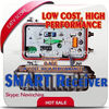 Low cost, high performance 2 outputs optic agc smart optic receiver