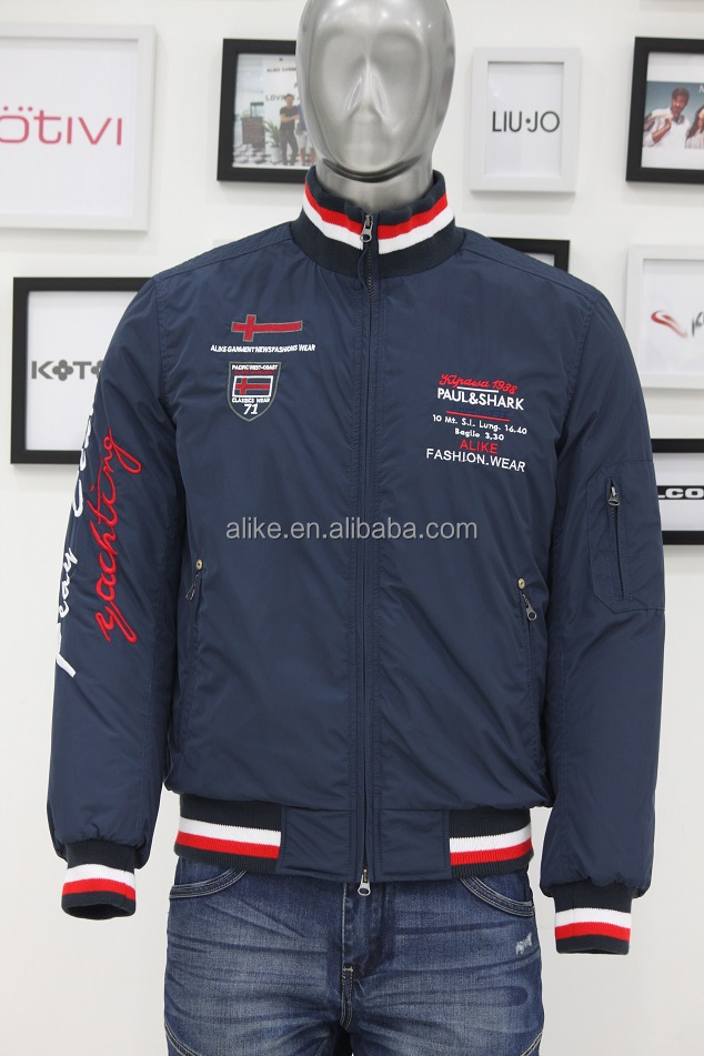 ALIKE men winter jacket clothing manufacturer in China
