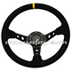 Customer's Brand Universal Suede Leather Drifting Car Steering Wheel