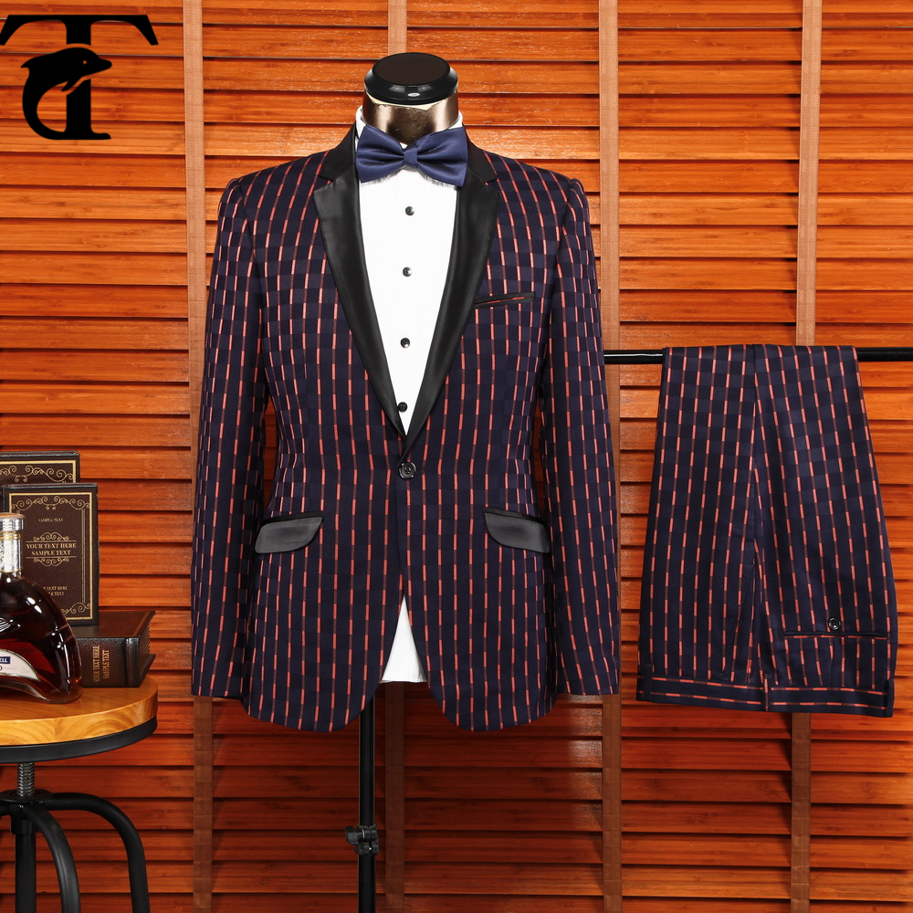 Brand Name Mens Dress Suit French Suit For Men