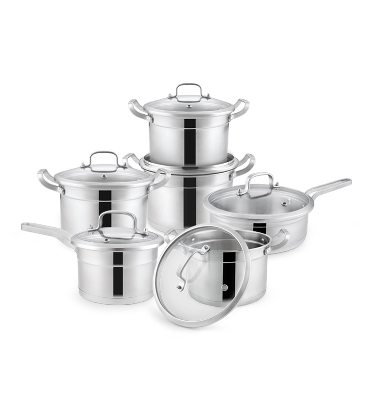 18 10 Surgical Stainless Steel Cookware Set In India Buy