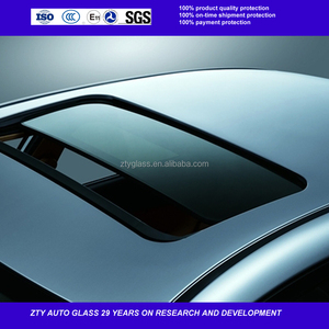 car upper side window glass sunroof