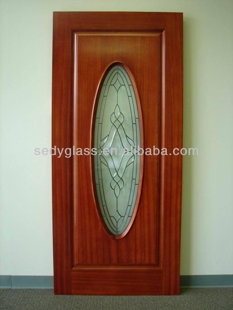 Oval cabochon de cristal para puertas de madera cristal de for Vidrios para puertas principales