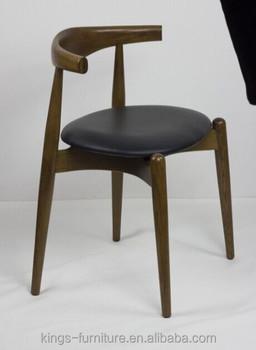Wooden Hans Wegner Elbow Chair KF C17