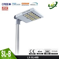 High power and easy install 60w solar led street lights price