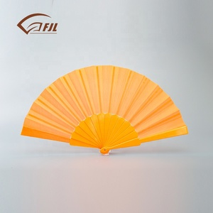 New ideas goods wedding door gift adult cooling fan bulk hand fans custom printed