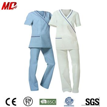 Cotton maid spa kungfu uniform buy cotton maid uniform for Spa uniform cotton
