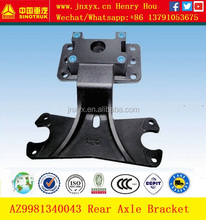 Howo truck parts AZ9981340043 air chamber bracket for AC16 axle