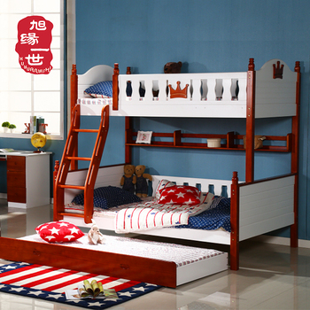 Chinese Supplier Latest Double Bunk Bed Design Two Layers