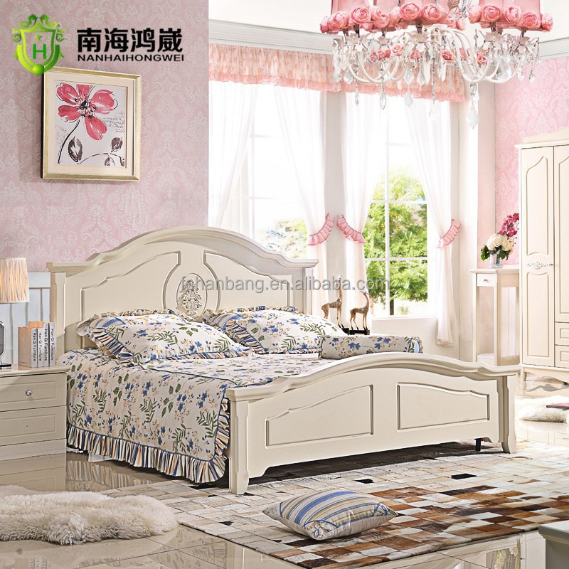 New Design royal furniture wooden bedroom sets