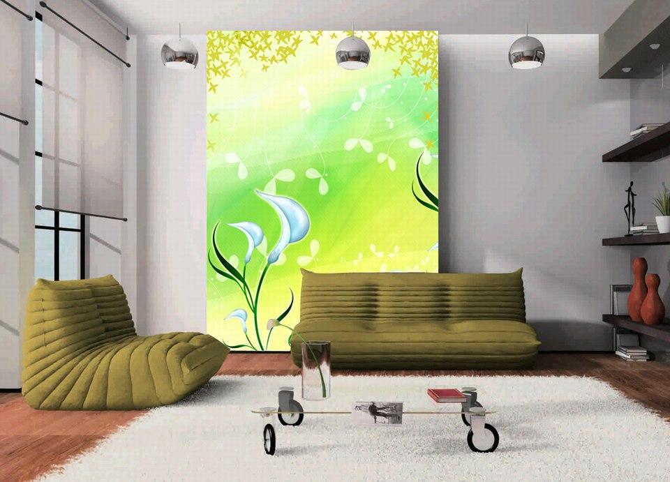 Aliexpress Com Buy Large Custom Mural Wallpapers Living: 2015-Picture-Tulip-Flower-Painting-Print-Custom-Large-Hd
