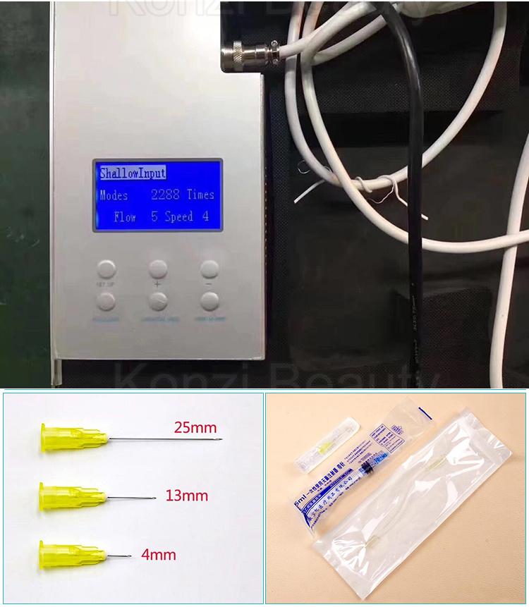 Chuyên nghiệp meso injector mesotherapy gun cho tiểu cầu phong phú plasma prp tiêm