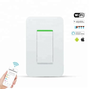 New products TUYA 120 style wifi light wall rocker switch smart Led electrical switch
