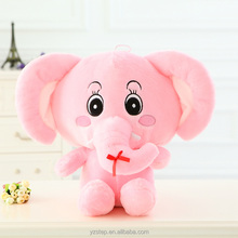Colorful Cute Cartoon Elephant Plush Doll Kids Gifts
