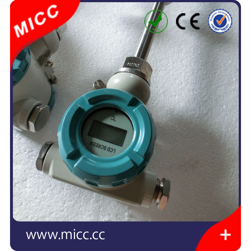 MICC temperature transmitter 4 20ma with thermowell