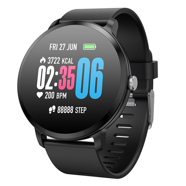 2019 smart orologio da polso v11 impermeabile activity tracker per Passi Distanza Calorie Heart rate monitor smartwatch V11