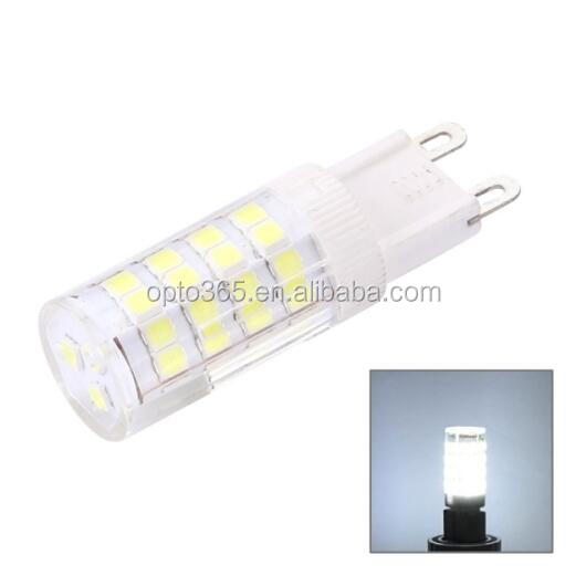 G9 5W 350LM 51 LED SMD 2835 CORN LIGHT BULB, AC 220-240V WHITE LIGHT