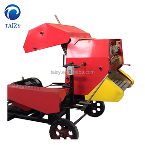 Semi-automatic silage balers for straws of wheat rice soybean corn and other fresh or dry