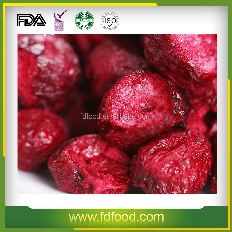 certified fruit market prices freeze dried sourcherry