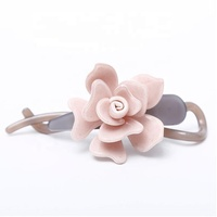 AliExpress Hot Sales Banana Clip High Quality Cellulose Acetate Banana Clips Fashion Flower Hair Clip for Women
