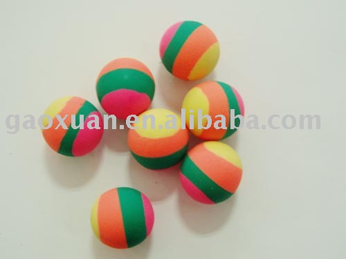 35mm Rubber High Bounce Ball